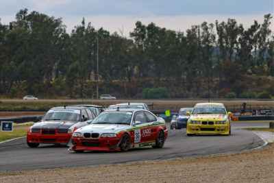 Marx taking the Class C lead in Race 2. Picture: Reynard Gelderblom
