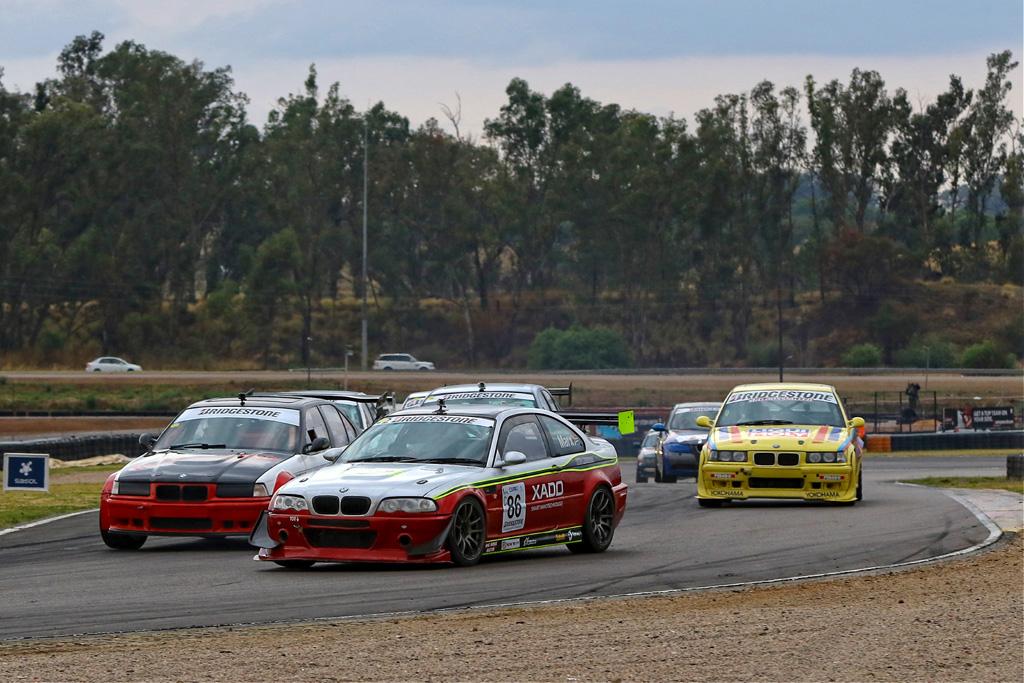 Marx taking the Class C lead in Race 2. Picture: Reynard Gelderblom