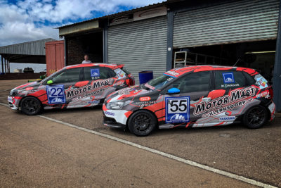 A new look for the MotorMart Racing Team ahead of the 2019 season opener. Picture: Mohamed Dangor