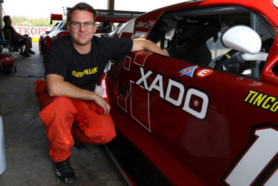 Antonie Marx is looking forward to the 2019 South African V8 Supercars season where he'll be piloting his Xado Jaguar.. Picture: Reynard Gelderblom