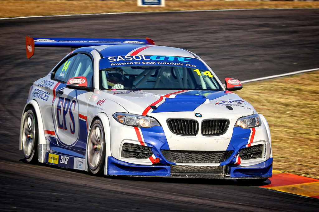 Johan Fourie has proven his pace at the front of the Sasol GTC pack and is motivated to record his first win in the series - Picture by Reynard Gelderblom
