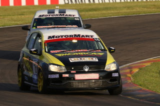 Lyle Ramsay is right back into contention for the championship following a set of strong results during Round 2 of the 2018 MotorMart VW Challenge - Picture by Reynard Gelderblom
