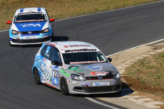 Staying at the front of the MotorMart VW Challenge field will be Stiaan Kriel's main aim at the Phakisa Freeway  - Picture by Reynard Gelderblom
