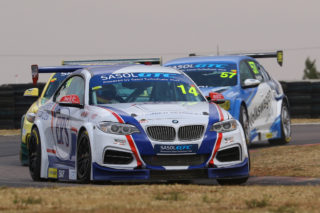 Johan Fourie will aim to solidify his fourth position in the championship at Zwartkops Raceway. Picture: Reynard Gelderblom