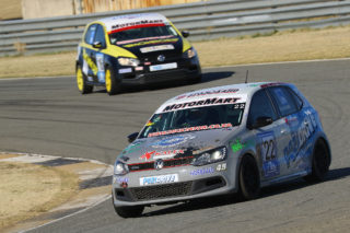 Stiaan Kriel aims to stay at the front of the MotorMart VW Challenge field. Picture: Reynard Gelderblom
