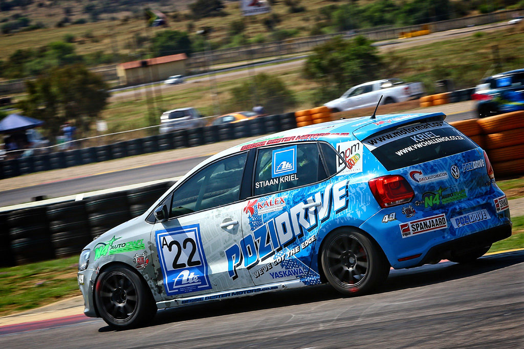 Stiaan Kriel will dig down deep to pull out his maiden MotorMart VW Challenge title. Picture: Paul Blackburn