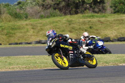 Luca Coccioni secured another fifth place in Race 3 - Picture by Reynard Gelderblom