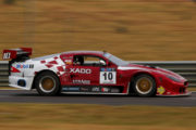 Antonie Marx brought his Xado jaguar home in fourth place in Race 2. Picture: Raymond Cornwell