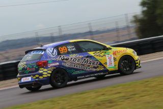 Stiaan Kriel is back in rebuilt car and will aim for an upward trajectory on the points table. Picture: Reynard Gelderblom