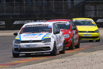 Deon Holliday Jnr took the Class B title after a thrilling day's racing. Picture: Reynard Gelderblom