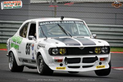 Johann Smith (Nancefield Autoparts Mazda Capella) - Marlboro Crane Hire Pre-1980 Historic Saloon Cars