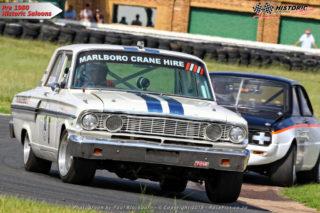 Colin Ellison (Ford Thunderbolt) - Pre-1980 Historic Saloons
