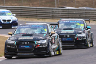 Michael Stephen (Engen Audi) will wish to consolidate his Sasol Global Touring Car points lead - Picture by RacePics.co.za