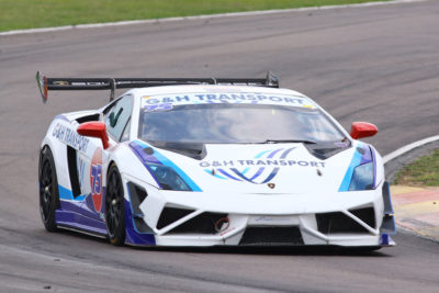 Ricky Giannoccaro (G&H Transport Lamborghini Gallardo) should chase trophies in the races for G&H Transport Extreme Supercars. Picture: RacePics.