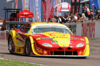 Mackie Adlem (Adlem Auto Jaguar) could be a winner in the races for V8 Supercars. Picture: RacePics