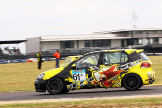 Wouter Roos - Nathans Motorsport VW Golf 6. Photo by RacePics.co.za